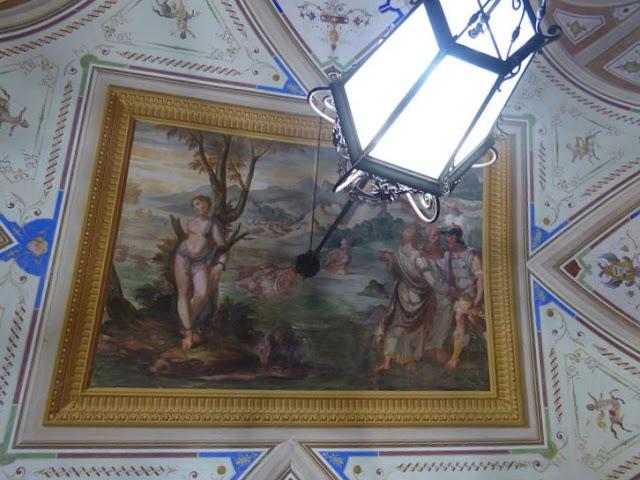 Angelica legata alla rupe nel palazzo Tommaso Spinola