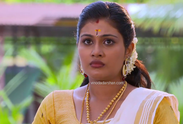 Alina Padikkal as Nayana- Bharya serial actress