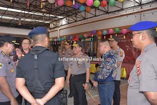 Kapolda Jambi Pantau Langsung Pengamanan Imlek di Kota Jambi