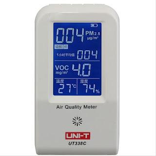 UNI-T Formaldehyde Monitor UT338C Air Quality Meter UNI-T UT338C