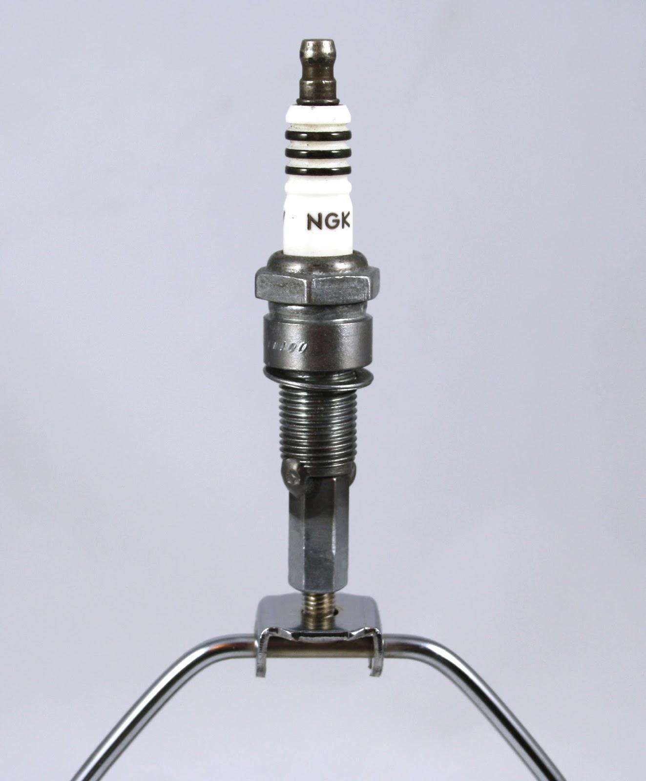MOTO-cycle Metal Works: Lamp Shade Finials