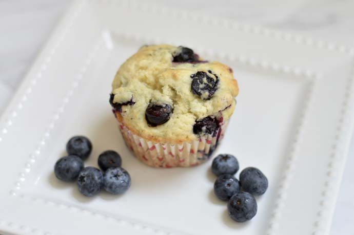 Easy Healthy Blueberry Muffin Recipe @rachmccarthy7