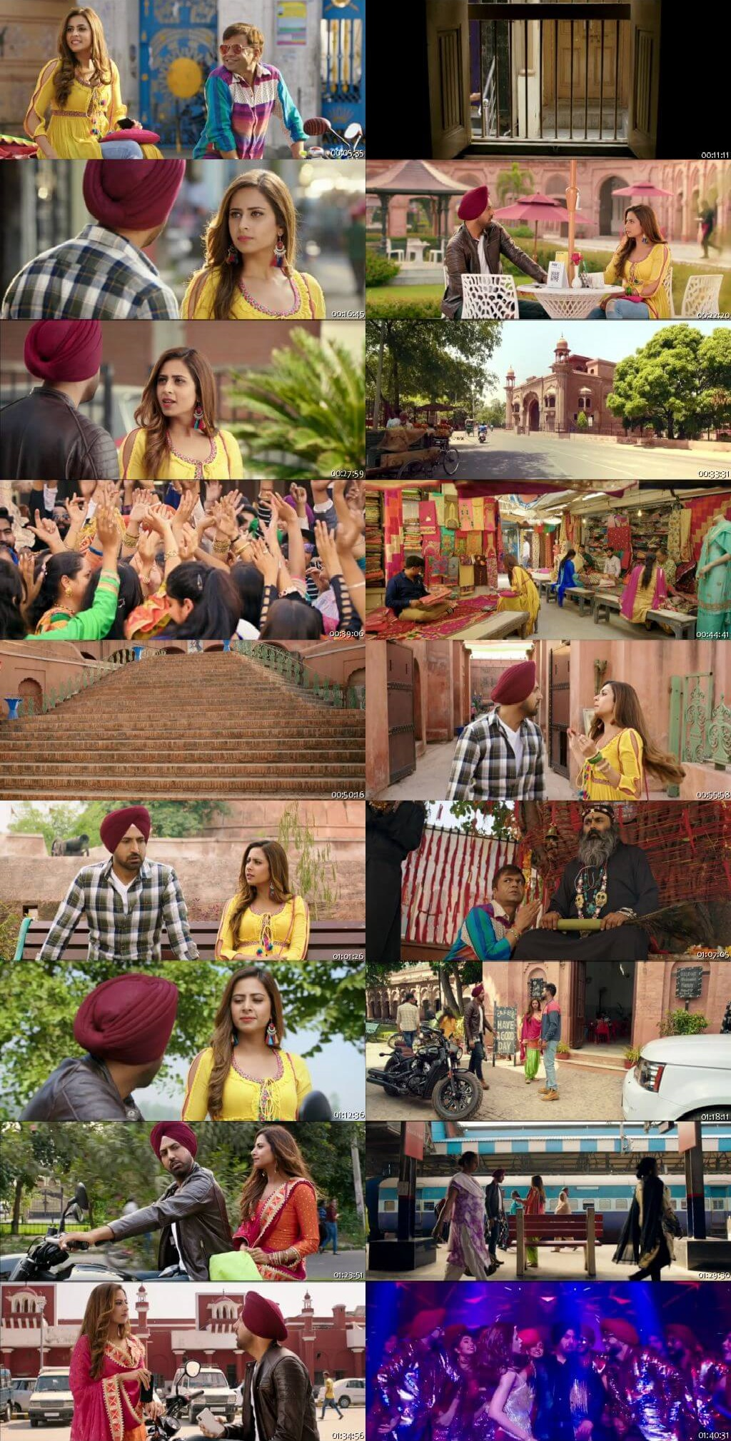 Screen Shot Of Chandigarh Amritsar Chandigarh 2019 Full Movie Free Download HD 720P Watch Online