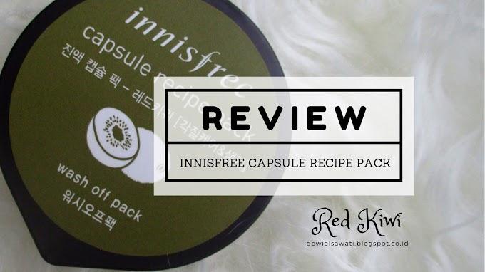 Review: Innisfree Capsule Recipe Pack (Red Kiwi)