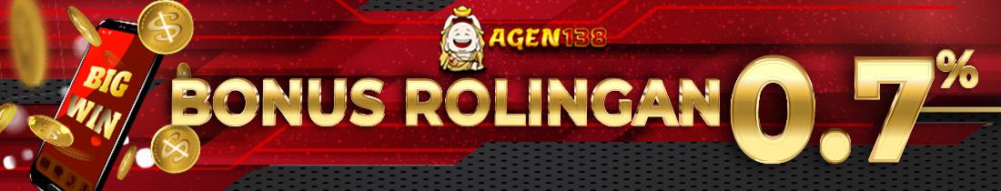 Bonus Rollingan 0.7%