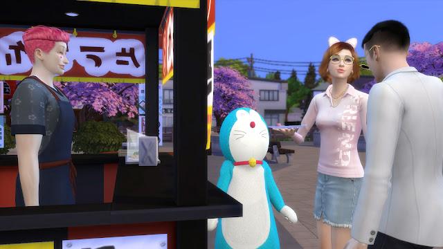 Sims 4 Doraemon CC Download