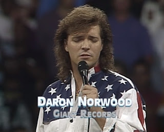 WCW Bash at the Beach 1994 - Daron Norwood sang the national anthem