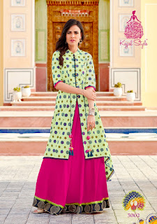 Kajal Style Fashion Lakme 3 party wear kurtis wholesaler