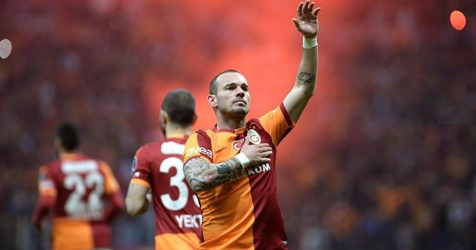 Wesley Sneijder: Tek isteğim Galatasaray'ı Şampiyonlar Ligi'nde görmek.