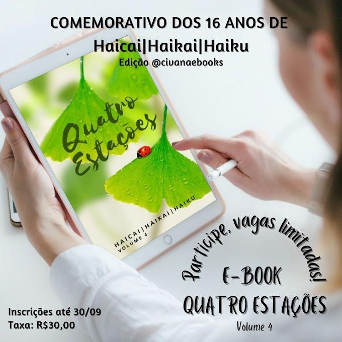 Novo E-book de Haicais, Participe!!