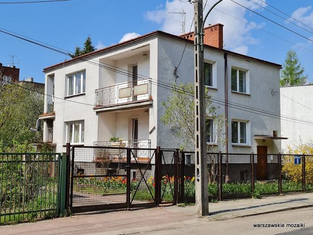 Warszawa Warsaw modernizm architektura architecture Nowe Włochy miasto ogród wille kamienice