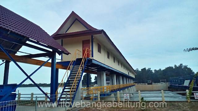 Objek Wisata Bendungan Pice Kecamatan Gantung Belitung Timur