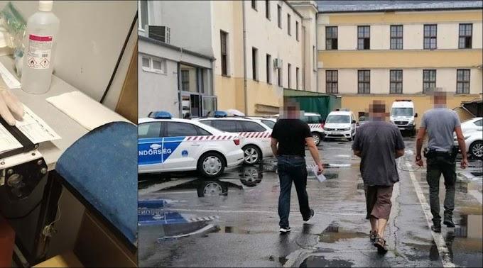 Csarodán tartóztatták fel a nőt gyermekével és a moldáv-román embercsempészt (videó)