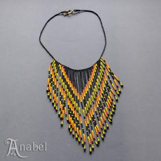 купить украшения из бисера в интернет магазине этническое колье на шею