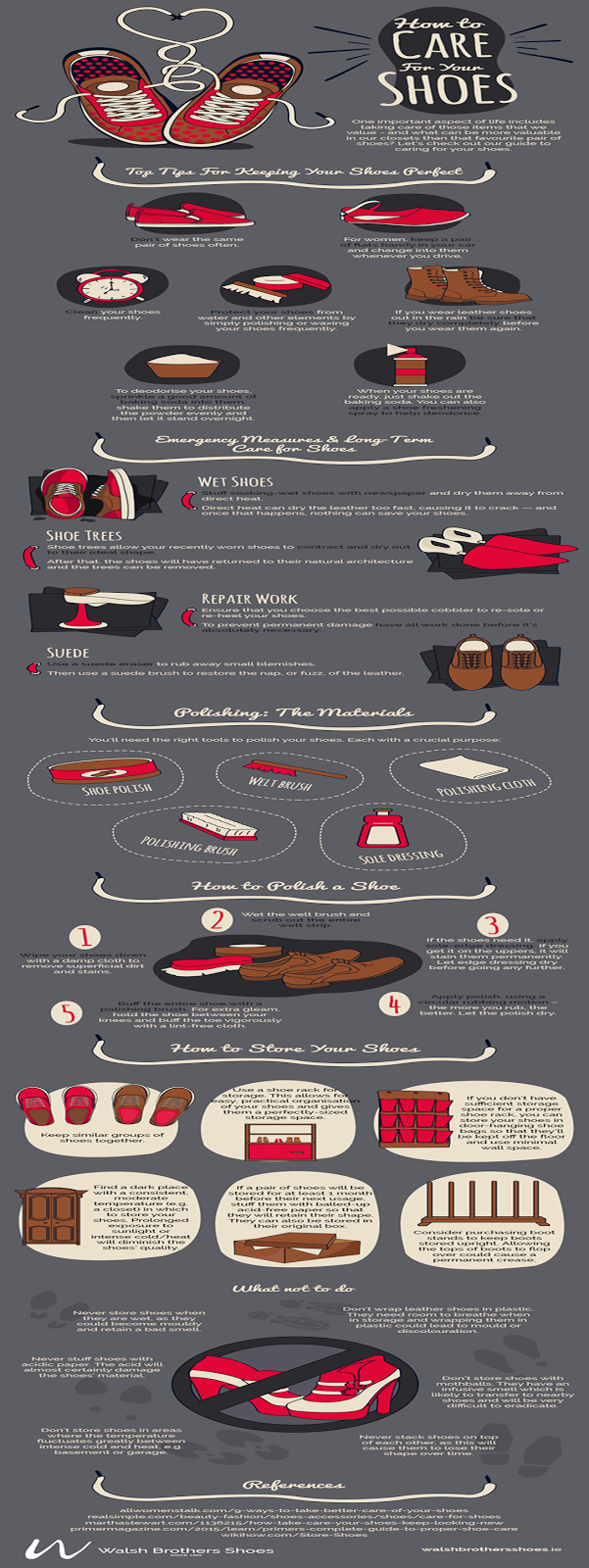 Glowy: Guest Post: Infographic: Maintain your shoes ...