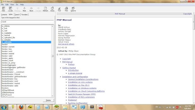 Belajar Dasar Dasar Pemrograman PHP : PHP Manual Part 2