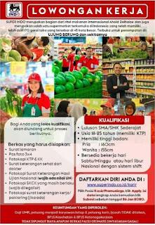 Lowongan Kerja Superindo Bandung 2020 Penempatan Ujungberung