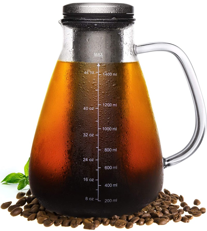 Cold Brew Iced Coffee Maker & Iced Tea Maker 12% OFF +$6 coupon