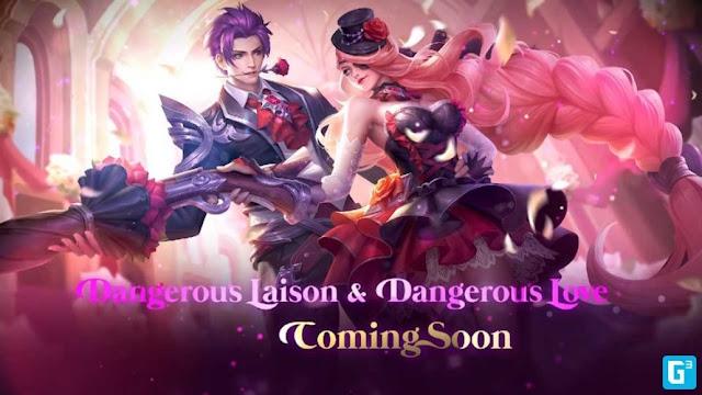 Mobile Legends Event Valentine Hadiah Skin Edisi Valentine Gratis, Ikuti Caranya.