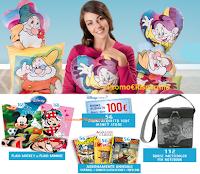 Logo Colleziona i cuscini Disney e vinci buoni, accessori e 3 viaggi a Parigi