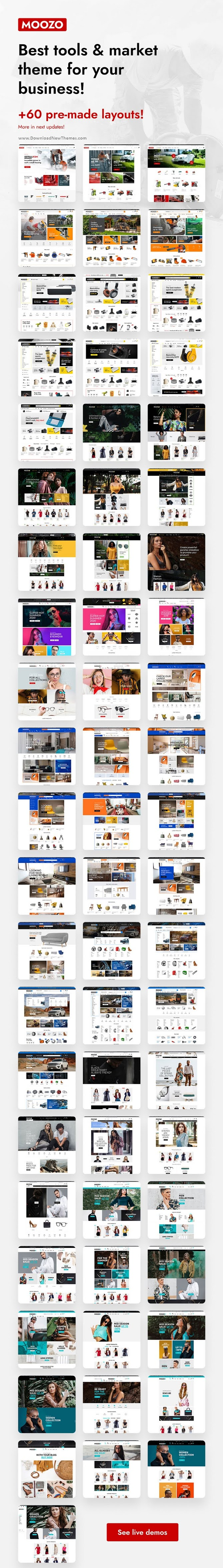 Tools, Furniture, Fashion, Jewelry, Market WooCommerce Theme