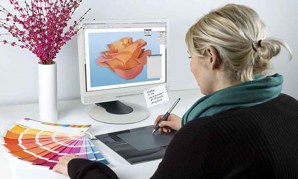 peluang usaha dikerjakan dari rumah bekerja di rumah desain grafis