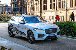Jaguar Land Rover ya prueba sus coches autónomos en vías urbanas