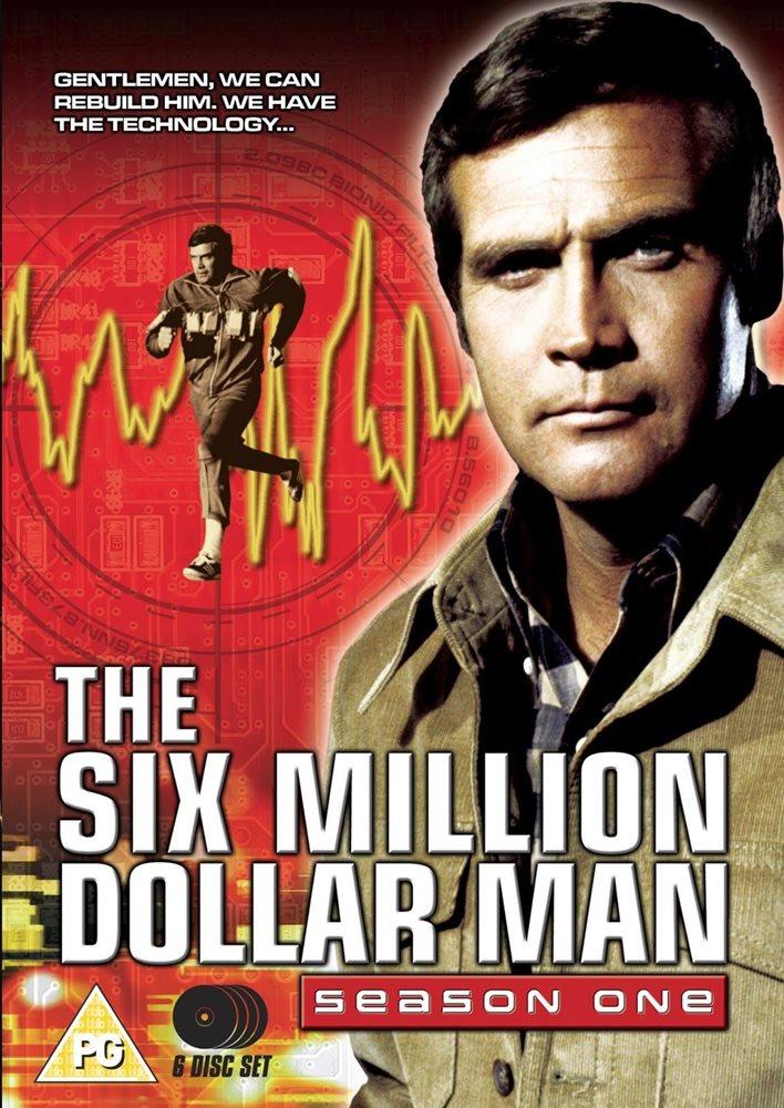 The Six Million Dollar Man Serie Completa 1080p Español Latino