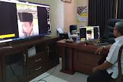 Waspada Virus Covid-19, Kadisdik Sumenep Pantau Pelaksanaan KBM Online Melalui Via Teleconference