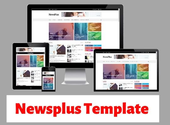 best free blogger templates, newsplus blogger theme