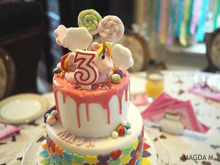 Bajkowe urodziny z motywem kucyków Pony