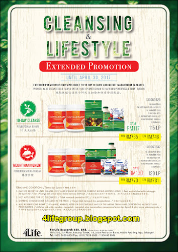foto Cleansing & Lifestyle Promotion 4Life Malaysia