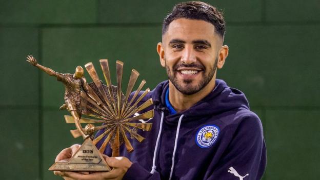 Riyad Mahrez Wins BBC African Footballer Of The Year 2016 Award