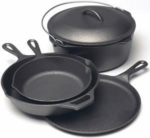 Cast Iron Hoe Cake Pan