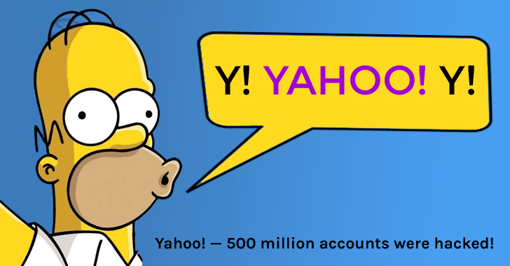 Yahoo Confirms 500 Million Accounts Were Hacked by 'State Sponsored' Hackers