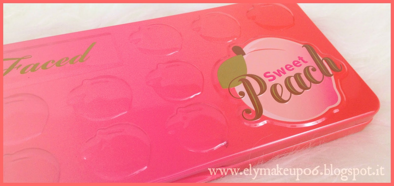 Elymakeup sweet peach eyeshadow palette too faced swatch e review - Riflessi in uno specchio scuro ...