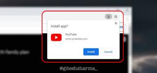 Progressive Web App for YouTube TV, YouTube Music and YouTube
