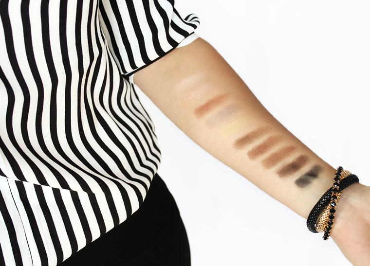 L`Oreal Paris Color Riche La Palette Nude Paleta cieni do powiek 02 Beige - kolory odcienie swatche