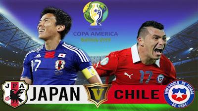 مشاهدة مباراة اليابان وتشيلي بث مباشر اليوم 18-6-2019 في كوبا امريكا 2019