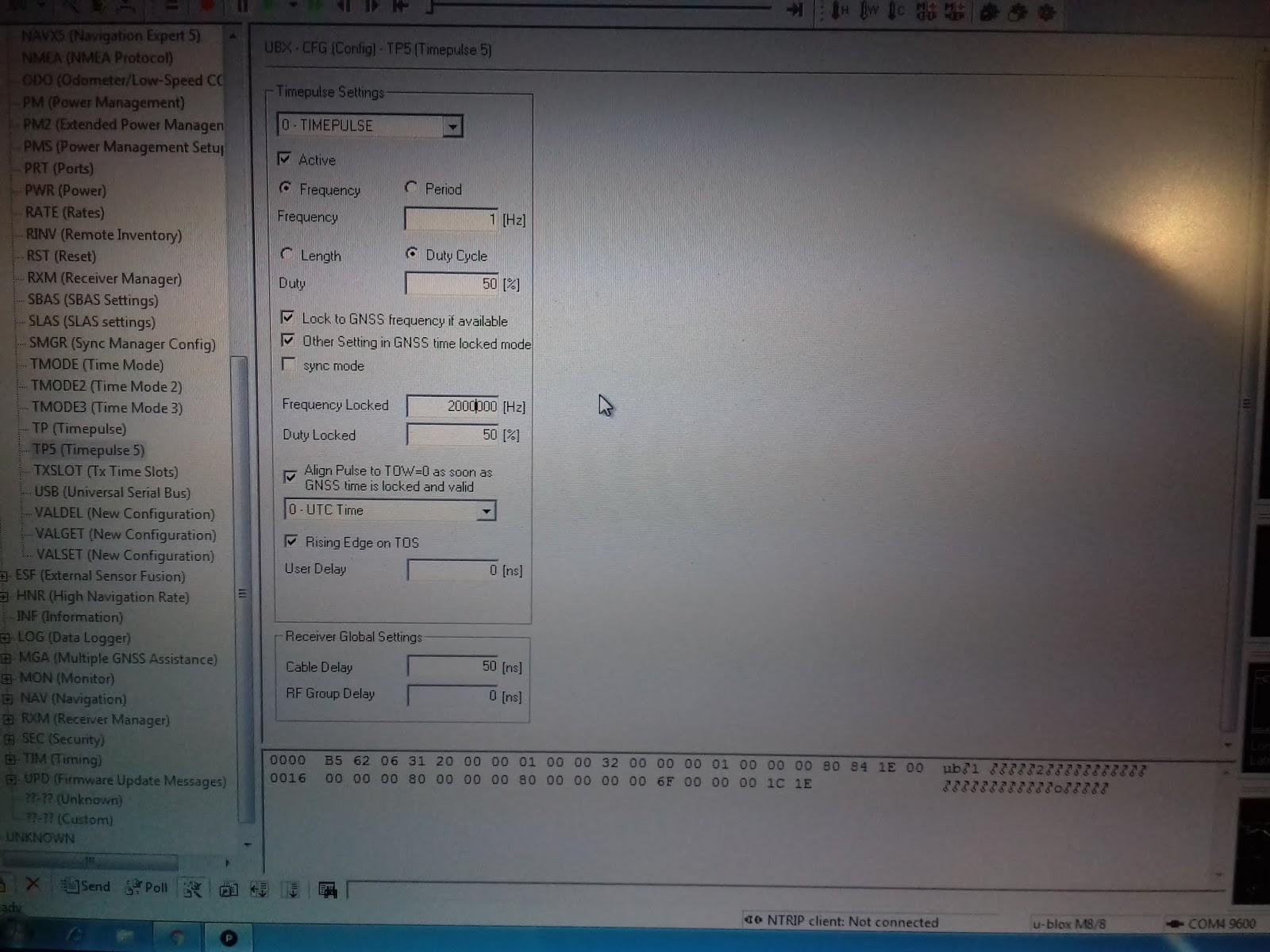 Ublox Gps Time Pulse