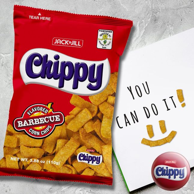 A bag of Chippy red is my favorite childhood snack
