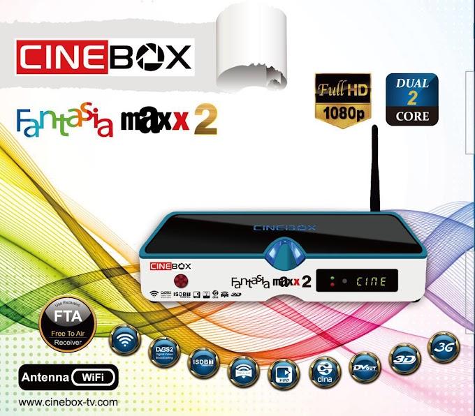 CINEBOX FANTASIA MAXX 2 NOVA ATUALIZAÇÃO - 29/07/2019