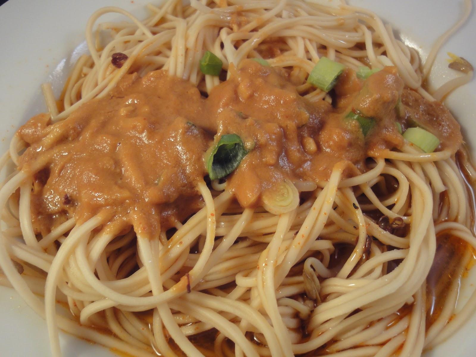 Sesame Noodles Recipe — Dishmaps