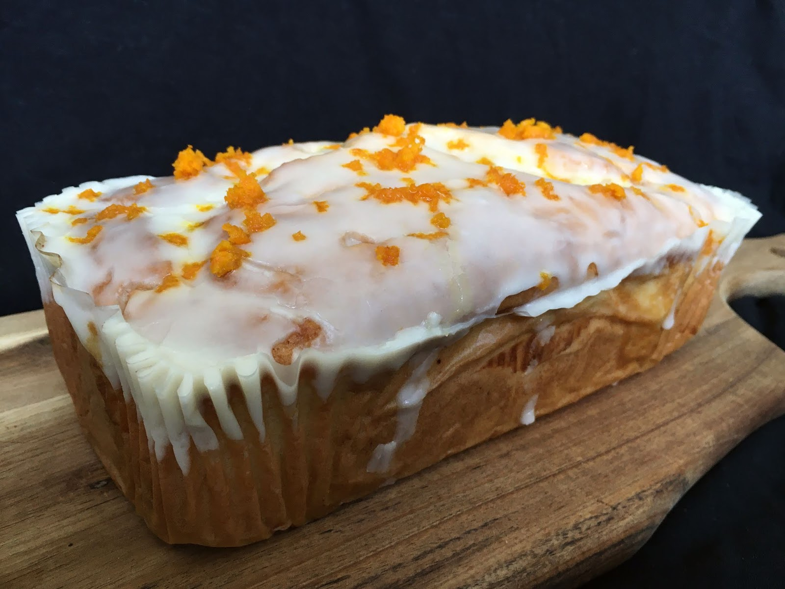 Orange Drizzle Cake (Vegan)