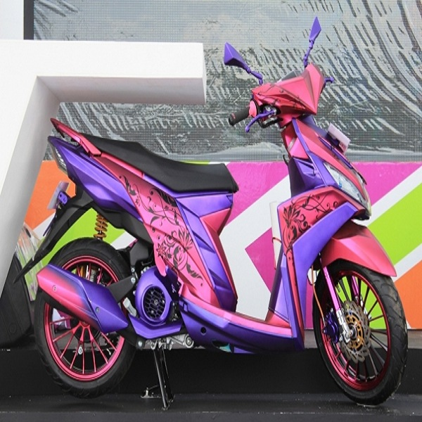 ide modifikasi mio m3 pink
