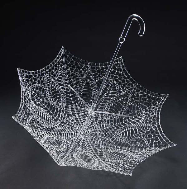 Impresionantes esculturas de cristal.