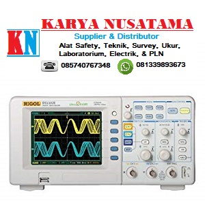 Jual Rigol DS1102E 2 Channel Oscilloscope Terlengkap di Surabaya