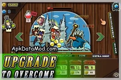 Tap Heroes Apk upgrade skills