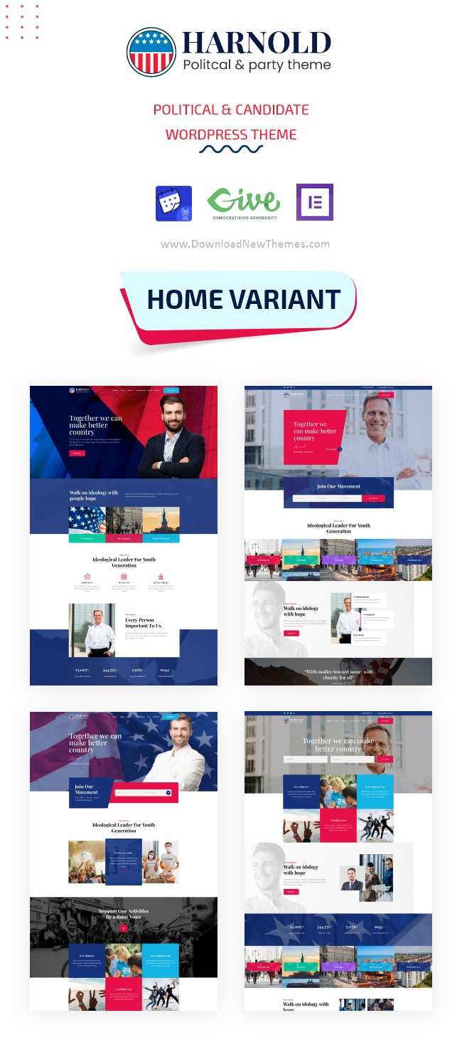 Political Campaign WordPress Theme
