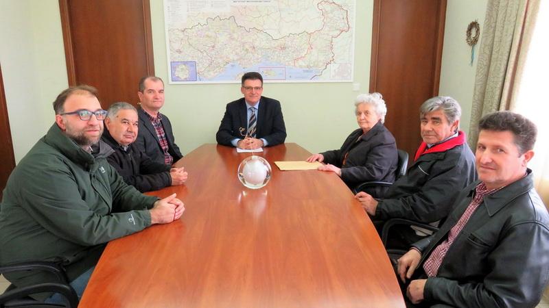 Συνάντηση Πέτροβιτς με μέλη του Δ.Σ. του Συλλόγου Πολυτέκνων Ν. Έβρου